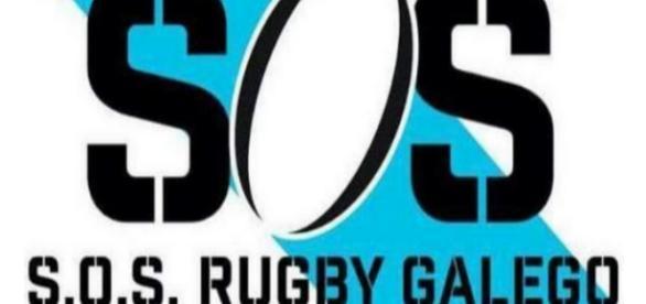 SOS Rugby Galego. Imagen de la campaña