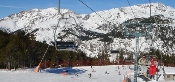 As estações de esqui de Andorra.