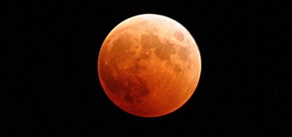 Así se vio el eclipse total de luna