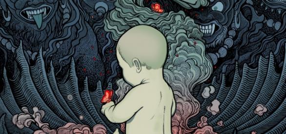 Capa de Transcendental dos Mono & The Ocean