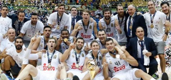 El Real Madrid campeón del mundo de baloncesto