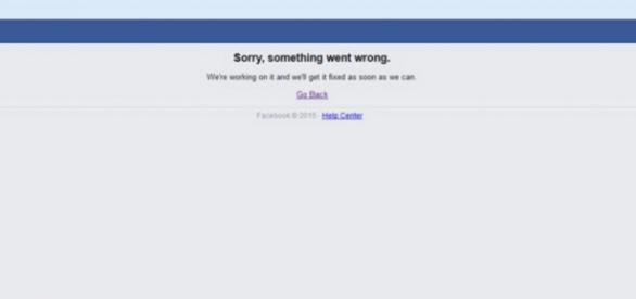 Facebook apresenta problemas pelo 5˚dia seguido.