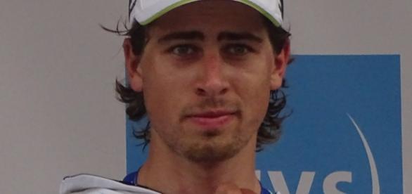 Imagen de Sagan en el Tour de Francia