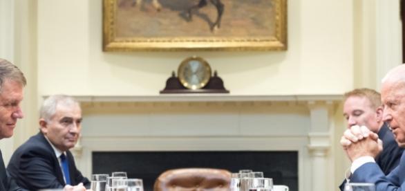 Klaus Iohannis şi Joe Biden foto: presidency.ro