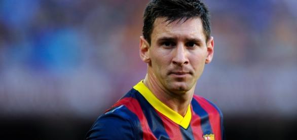 Lionel Messi está tendo sérios problemas.