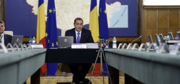 Premierul Victor Ponta foto: gov.ro