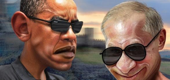 Putin i Obama w wersji humorystycznej