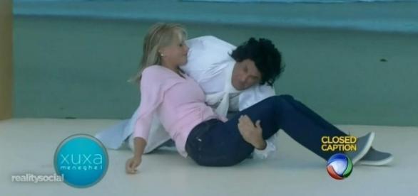 Sérgio Mallandro 'ressuscita' Xuxa, mas sem beijo