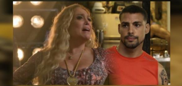 Susana detonou Cauã Reymond durante as gravações