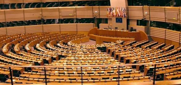 Una immagine del Parlamento Europeo