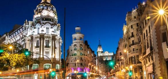 A bela Madri, capital da Espanha.