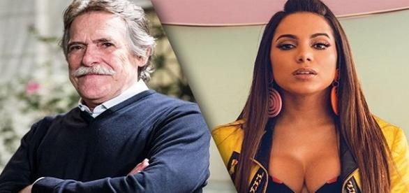 Anitta rebate critica de ator global