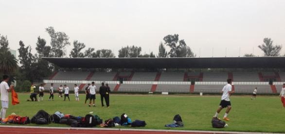 El equipo entrena en el Estadio 'Palillo' Martínez