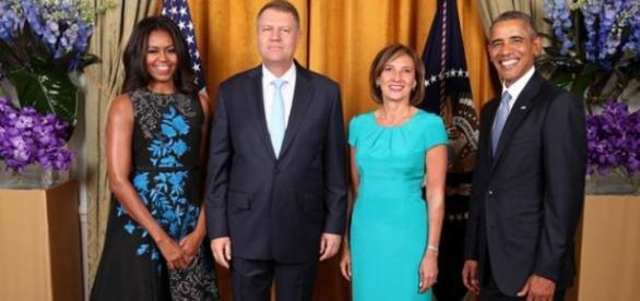 Familia Iohannis și Obama foto presidency.com