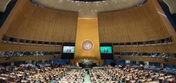 Preşedintele Iohannis la ONU foto presidency.ro