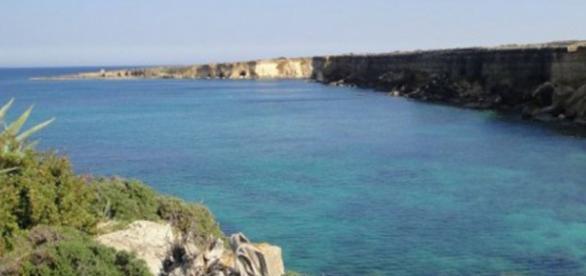 Una porzione della costa siracusana