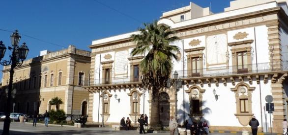 Il Palazzo sede del Comune di Augusta