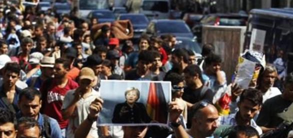 Imigranţii musulmani au mulţumit Angelei Merkel