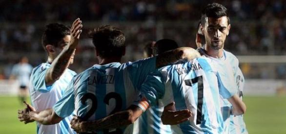 La Selección goleó a Bolivia ( Télam)