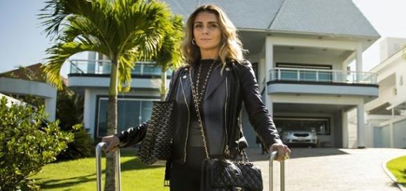 Looks da Atena na novela A Regra do Jogo