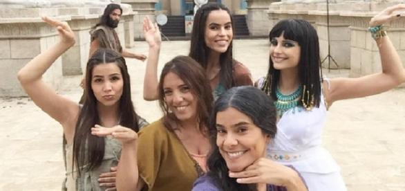 'Os Dez Mandamentos' vira terror da Globo