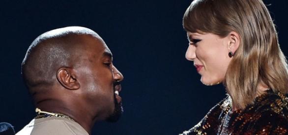 Taylor Swift e Kanye West são os melhores amigos.