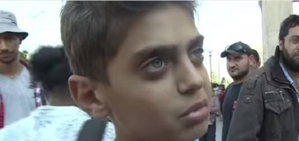 Un interviu cu un băieţel sirian refugiat