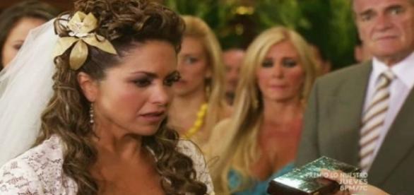 Valentina foi abandona no dia de seu casamento