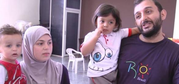 Mais e mais refugiados sírios tem ajuda do Brasil.