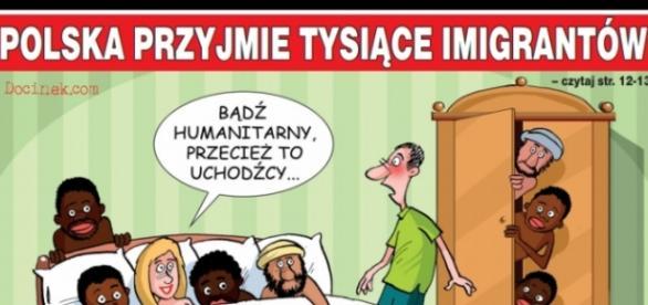 Polska przyjmie tysiące imigrantów.