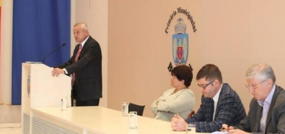 Sorin Oprescu vorbind ca primar general