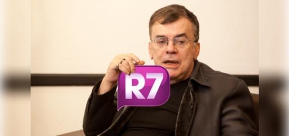 Walcyr Carrasco mostra que R7 inventa notícias