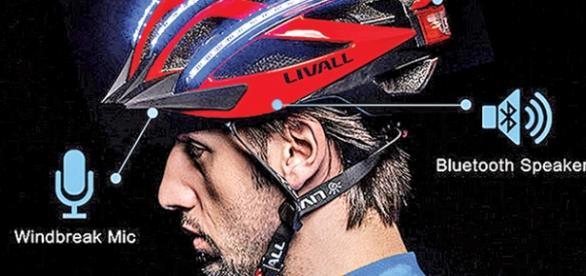 Casco de bicicleta inteligente Liveall