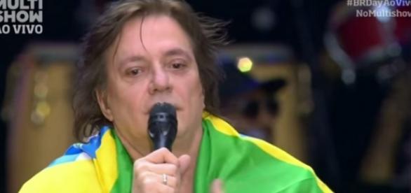 Globo se recusa a exibir protesto de cantor