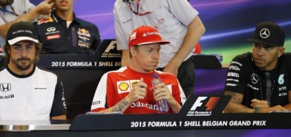 Hamilton y Alonso, Gran Premio de Bélgica