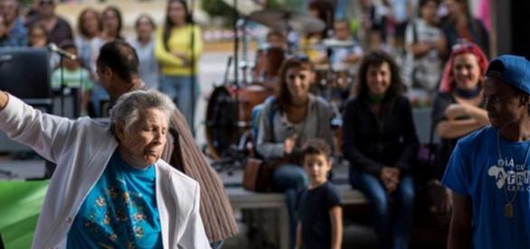 Integración de culturas. Foto: Eduardo Moreno.