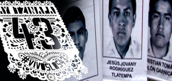 Los 43 normailstas desaparecidos de Ayotzinapan