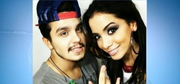 Luan Santana e Anitta (Imagem: Portal R7)