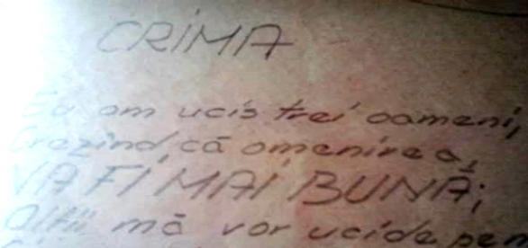 Mărturia celui executat din manuscrisele sale