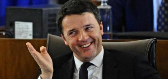 Il leader del partito Democratico, Matteo Renzi