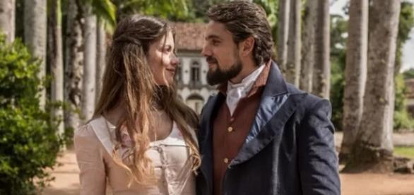 Lívia e Felipe morrem em fim trágico