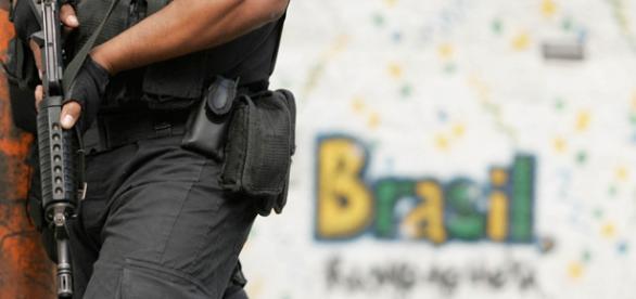 Polícia no Brasil é a que mais mata.