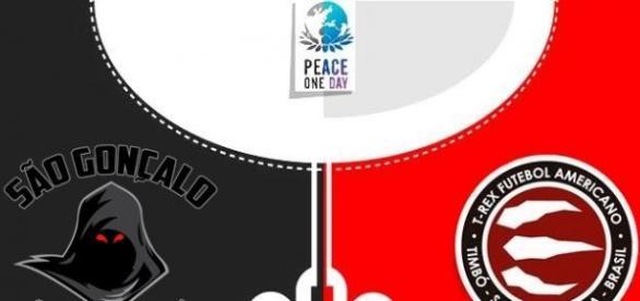 SG Shadows e T-Rex unidos no 'Peace One Day'
