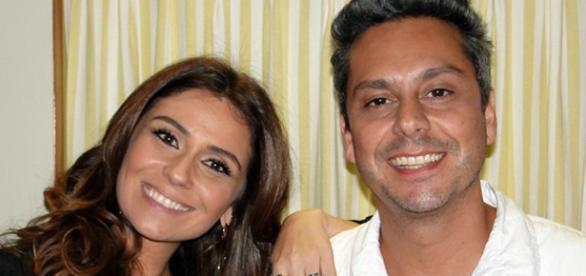 Atena e Romero. Foto: Divulgação Rede Globo.