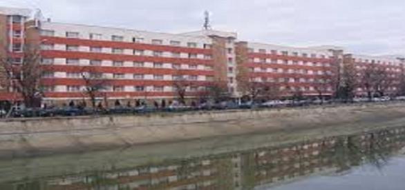 Complexul studențesc din zona Regie