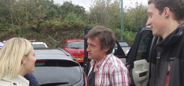 Moderator Richard Hammond im Interview
