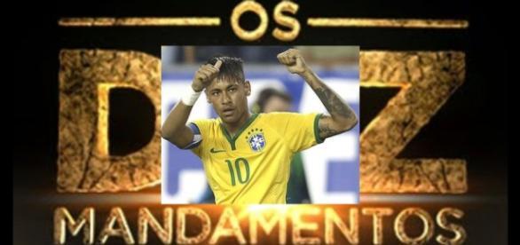 Neymar não consegue superar 'Os Dez Mandamentos'