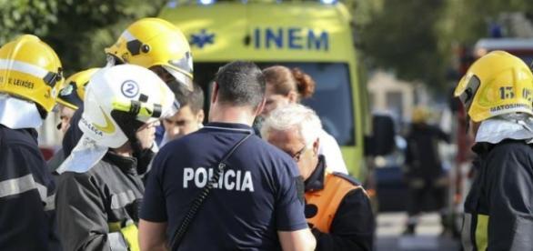 Na freguesia de Pousos foi encontrado homem morto.