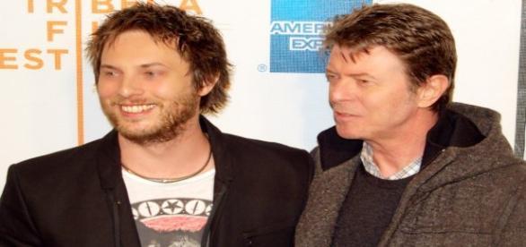Dúncan e David Bowie, filho e pai respectivamente