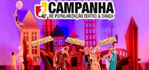 Campanha de popularização Teatro & Dança